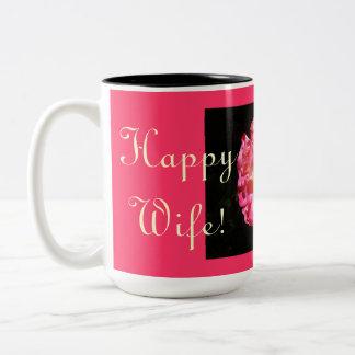 Happy Wife! Happy Life. Coffee mugs Valentines