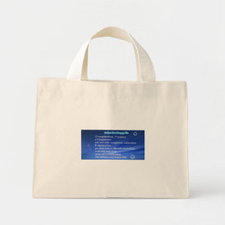 Happy wife recipe on a tote bag