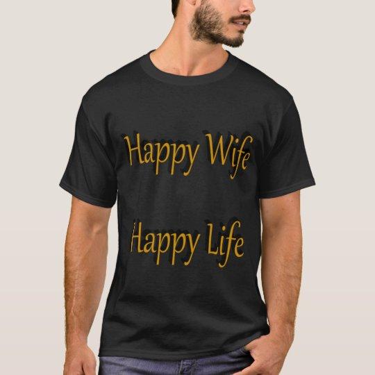happy wife T-Shirt