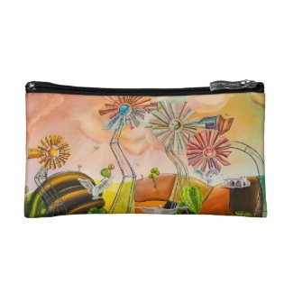 Happy Windmills Cosmetic Bag
