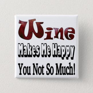 Happy Wine Button