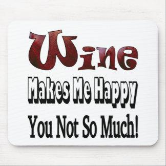 Happy Wine Mousepad