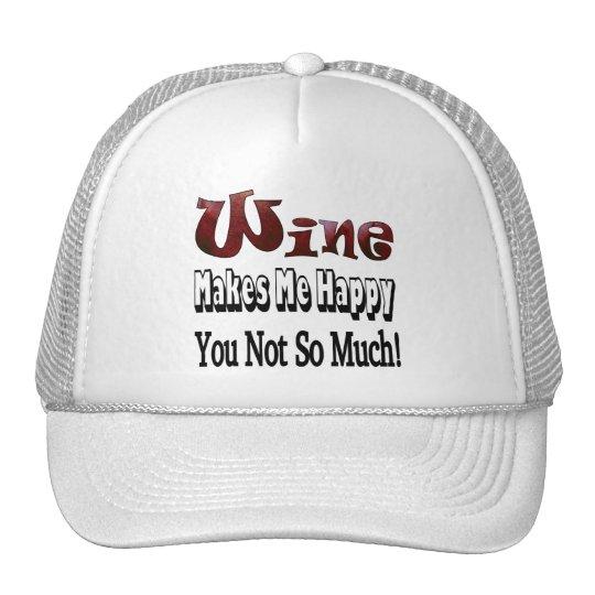 Happy Wine Trucker Hat