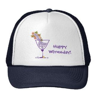 Happy Winesday! - Hat