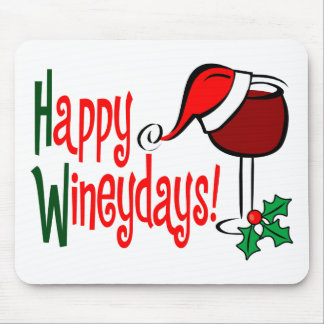 Happy Wineydays1 Mouse Mats