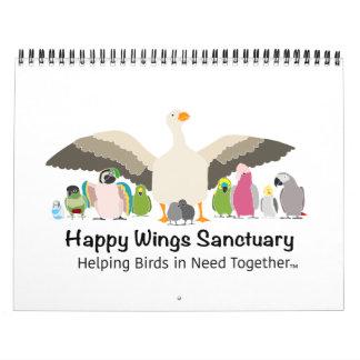 Happy Wings Sanctuary Calendar Fundraiser