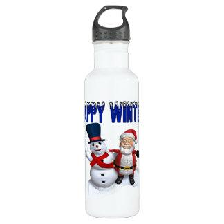 Happy Winter 2 Water Bottle