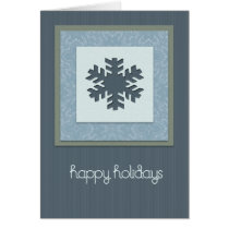 textures, pattern, winter, snow, snowflake, stripes, xmas, holidays, christmas, present, gifts, happiness, blue, Card with custom graphic design