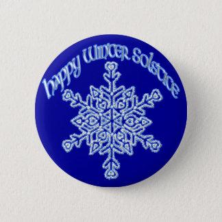Happy Winter Solstice Pinback Button