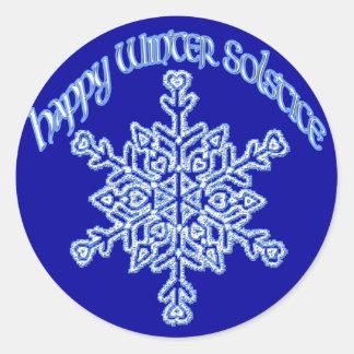 Happy Winter Solstice Stickers