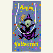 Happy Witch Halloween Gift Bag