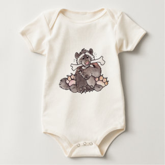 Happy Wolverine Baby Bodysuit