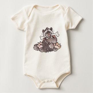 Happy Wolverine Baby Bodysuit