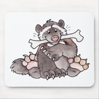 Happy Wolverine Mouse Pad