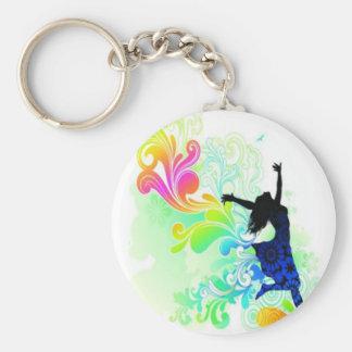 Happy Woman - Key Chain