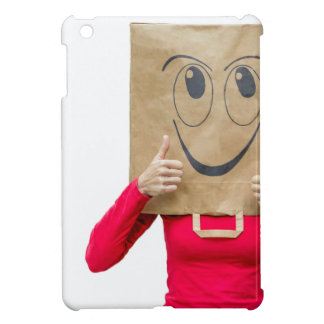 Happy woman with thumbs up cover for the iPad mini