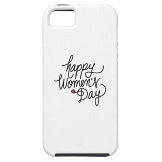 Happy Women's Day iPhone SE/5/5s Case