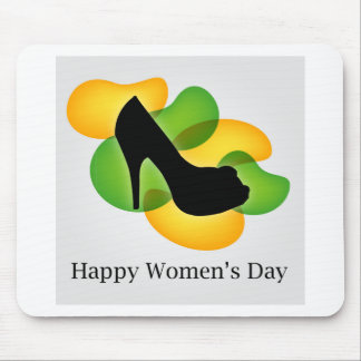 Happy womens day march 8 mouse pad