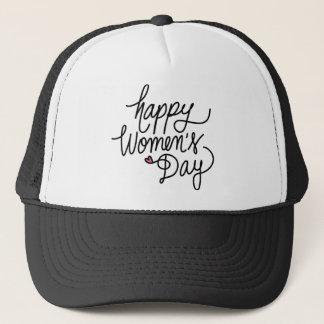 Happy Women's Day Trucker Hat