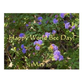 Happy World Bee Day! Postcard