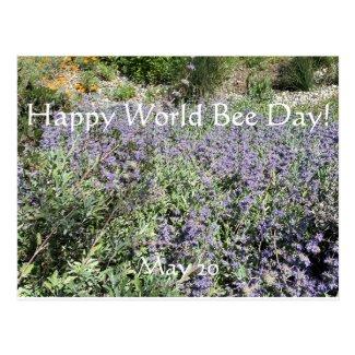 Happy World Bee Day!Postcard Postcard