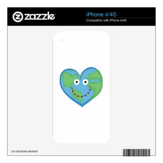 Happy World Skin For iPhone 4S