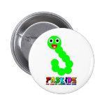 Happy Worm Button