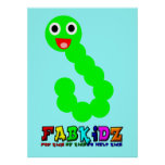 Happy Worm Poster