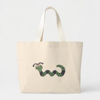 Happy Worm Tshirts and Gifts Jumbo Tote Bag