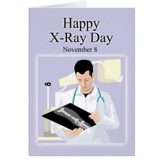 Happy X-Ray Day November 8 Card