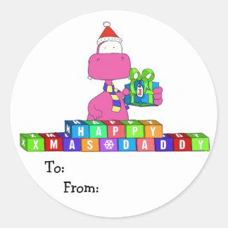 happy xmas daddy sticker