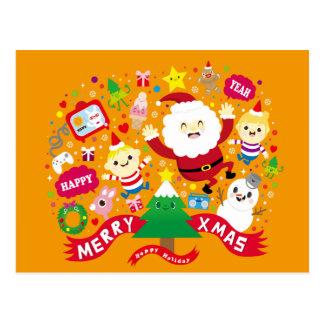 Happy Xmas Postcard