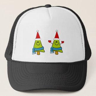 Happy XMas Trees Trucker Hat
