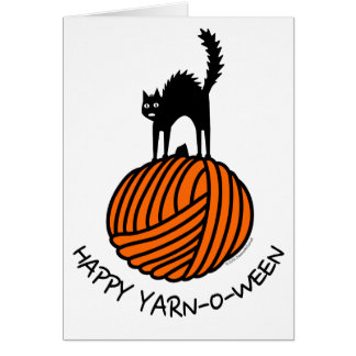 Happy Yarn-O-Ween! Greeting Card