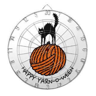 Happy Yarn-O-Ween! Dartboard