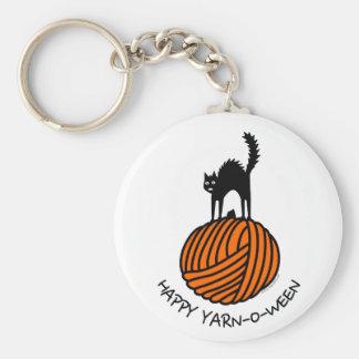 Happy Yarn-O-Ween! Keychain