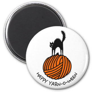 Happy Yarn-O-Ween! Magnet