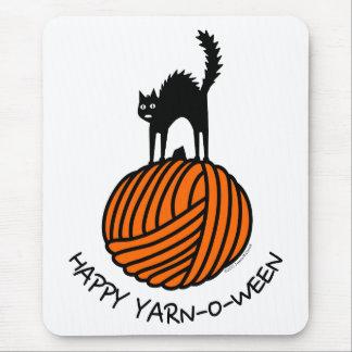 Happy Yarn-O-Ween! Mouse Pad
