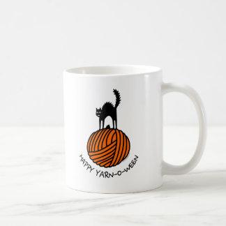 Happy Yarn-O-Ween! Classic White Coffee Mug