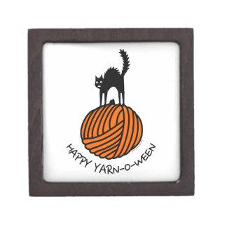 Happy Yarn-O-Ween! Premium Trinket Boxes