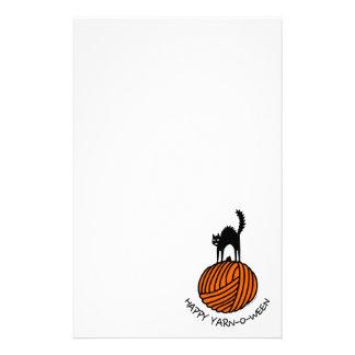 Happy Yarn-O-Ween! Stationery Design