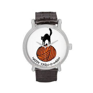Happy Yarn-O-Ween! Watches