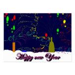 Happy Year new Tarjetas De Visita