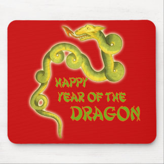 Happy Year of the Dragon Gifts Mouse Pads
