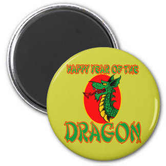 Happy Year of the Dragon T-shirts, Mugs, Bags 2 Inch Round Magnet