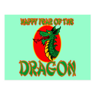 Happy Year of the Dragon T-shirts, Mugs, Bags Postcard