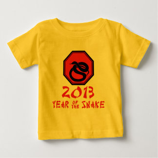 Happy Year of the Snake Chinese Calendar Baby T-Shirt