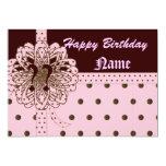 Happy Yearless Birthday Gift Invitation!-Cust.