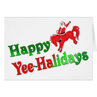 Happy Yee~Halidays greeting cards