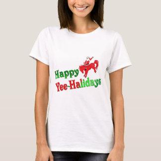 Happy Yee~Halidays ladies fitted babydoll tee